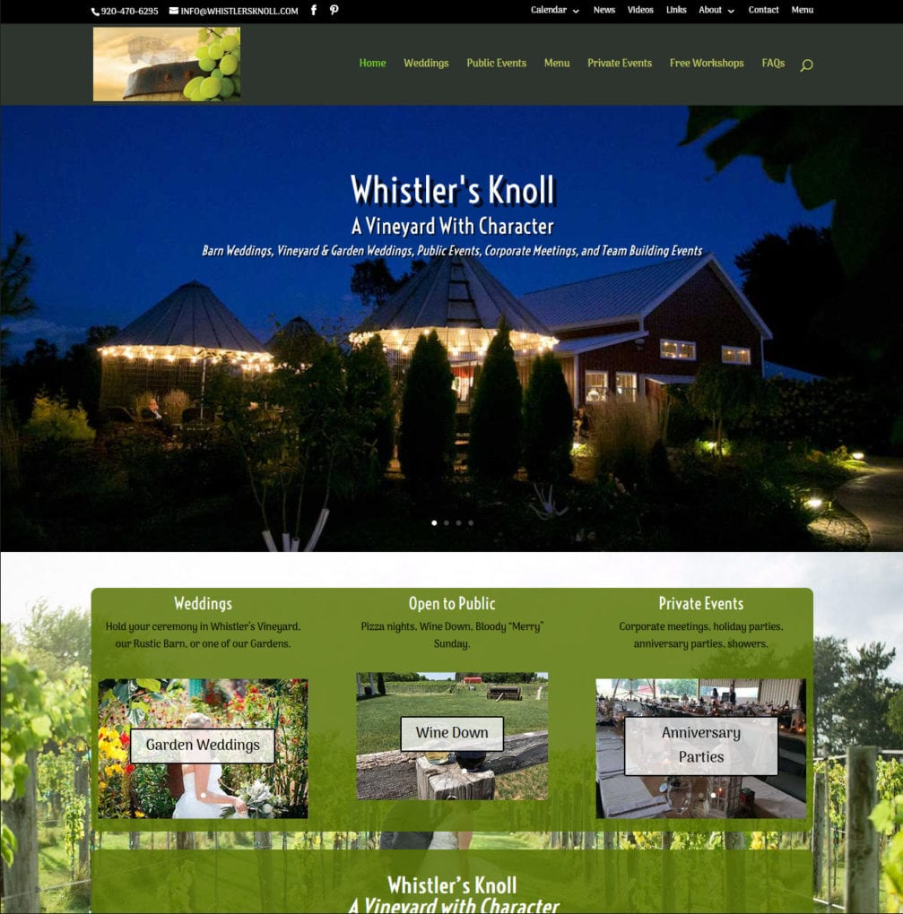 Whistler's Knoll home page